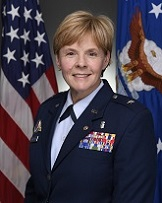 Brigadier General (Dr.) Sharon Bannister, Director, J7 (Education and Training), Defense Health Agency, Defense Health Headquarters, Falls Church, Virginia