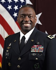 Official image of Army Surgeon Lt. General, R. Scott Dingle
