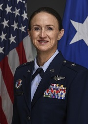 Brigadier General Anita L. Fligge, Director, J7 (Education and Training), Defense Health Agency, Defense Health Headquarters, Falls Church, Virginia