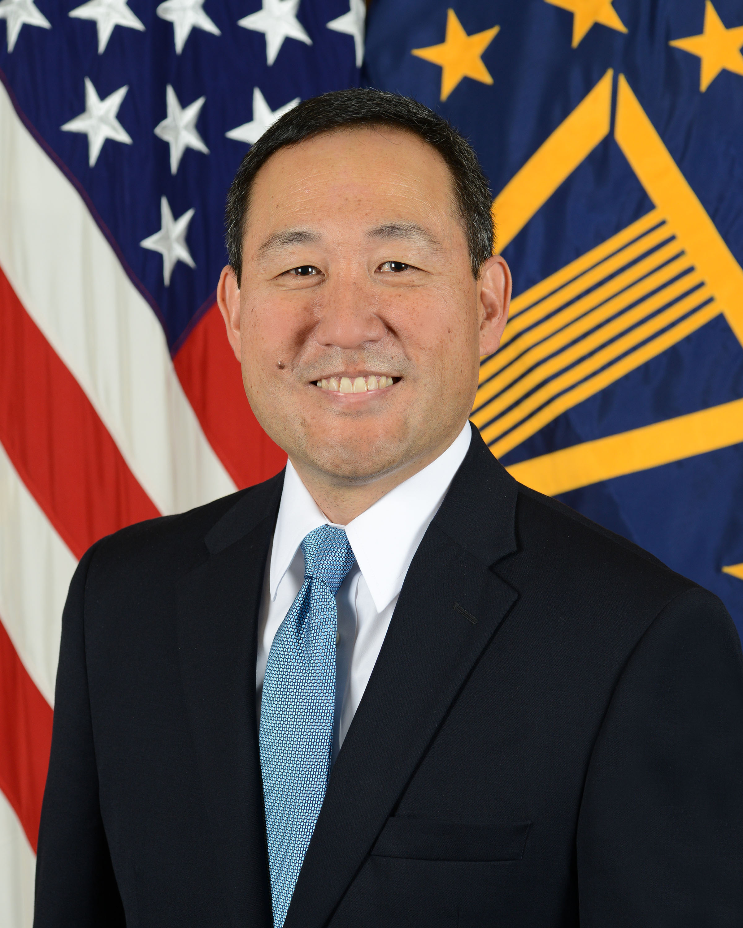 Official photo of Guy Kiyokawa, Deputy Director of the Defense Health Agency.