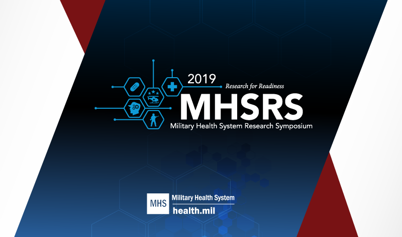 The MHSRS is the Department of Defense's premier scientific meeting.