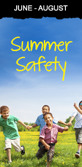 Summer Safety Campaign Image
