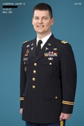 Photo of Ltc. David Elliot Cabrera.