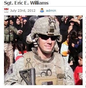 Sgt. Eric E. Williams