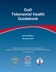 Image of cover of DoD Telemental Health Guidebook