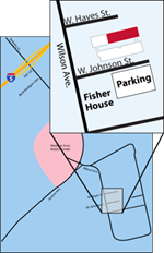 Map of Connected Health location