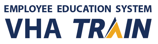 Logo for VHA TRAIN, the Employee Education System