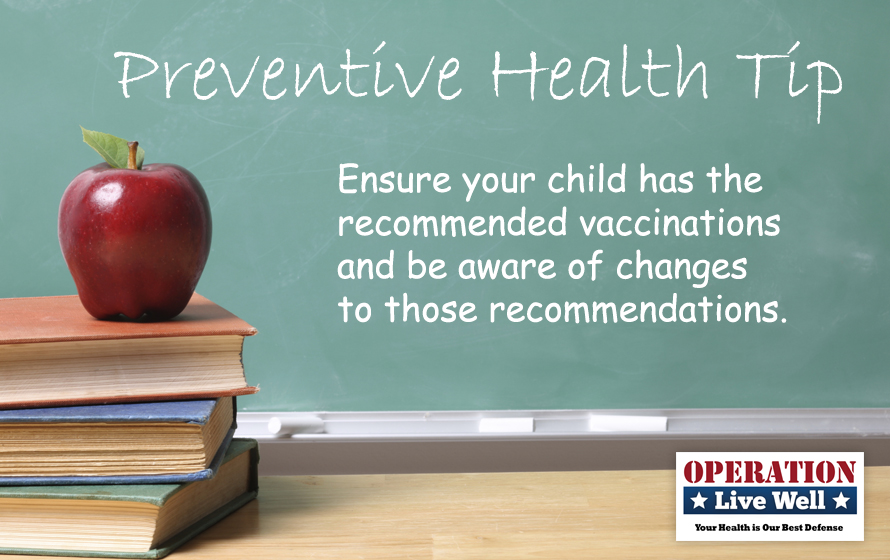 Preventive Health Tip for Back to School