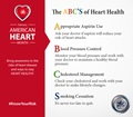 ABC's of Heart Health Infographic