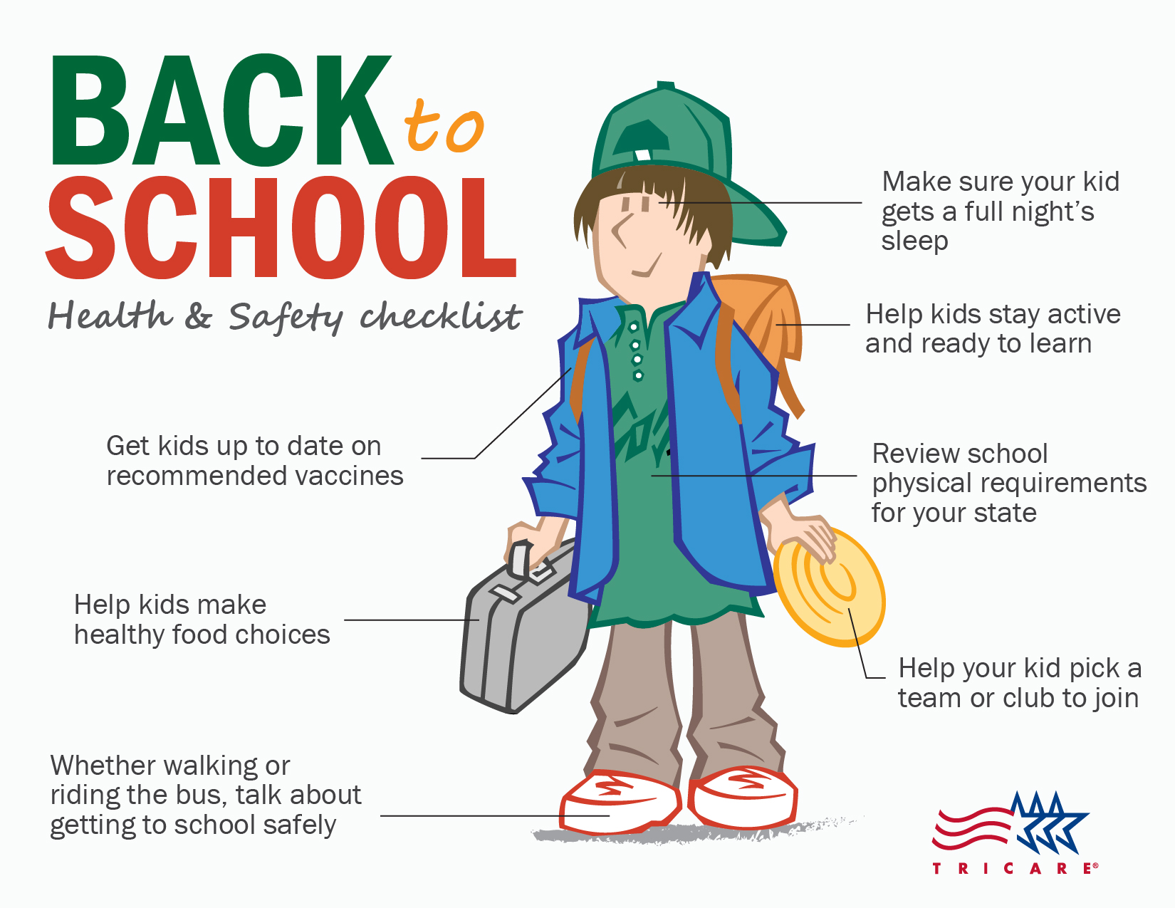Health and Safety Checklist for Back to School