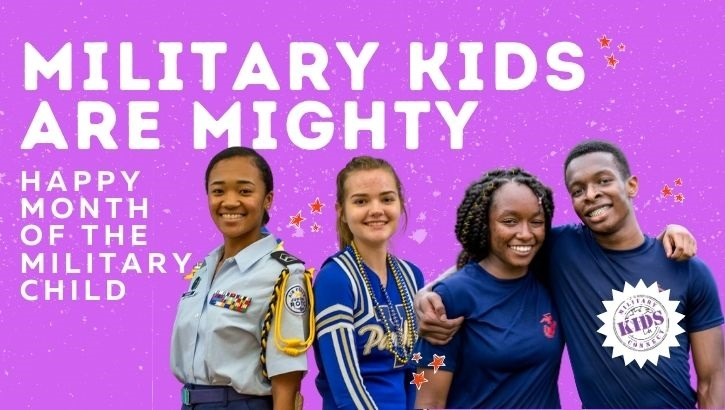 This April, the DHA will celebrate the mighty military child