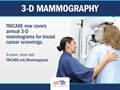 This graphic states information about 3-D Mammography