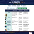 Graphic with text about Open Season