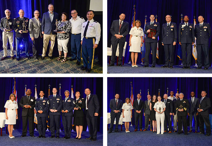 On July 24, 2018, at the Defense Health Information Technology Symposium in Orlando, Fla., Service members and employees from across the Military Health System were recognized who have made significant contributions and demonstrated outstanding excellence and achievement in Health Information Technology (HIT) in the past year.
