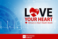 February is nationally recognized as American Heart Month, a time for the Department of Defense community to show its love for healthy living.