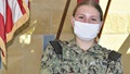 Corpsman conviction of care, compassion and competence…Hospitalman Grace Pridmore, from Kellyville, Okla., assigned to Navy Medicine Readiness and Training Command (NMRTC) Bremerton Detachment Puget Sound Naval Shipyard (PSNS), was acknowledged for her selfless effort by Capt. Shannon J. Johnson, NMRTC Bremerton commanding officer, for identifying another Sailor at risk and taking quick action to help get the Sailor to the appropriate level of care, very possibly saving a life (official Navy photo by Douglas H Stutz, NHB/NMRTC Bremerton public affairs officer).