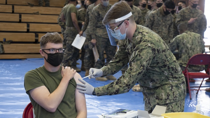Opens larger image for Janssen COVID-19 vaccine returns to Military Health System