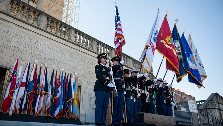 Joint Service Color Guard (DoD photo)