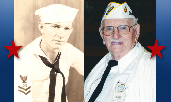 Harold Mainer, now 95, was stationed on the USS Helena when Pearl Harbor was attacked. The Arkansas native was only 20 years old at the time and had joined the Navy a year before. He served in the Navy throughout the war and was honorably discharged Jan. 17, 1947. (Photos courtesy of the Mainer family)