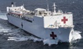 The hospital ship USNS Mercy departs Naval Base San Diego in support of Pacific Partnership 2018, Feb. 23, 2018. Pacific Partnership, now in its 13th iteration, is the largest annual multinational humanitarian assistance and disaster relief preparedness mission conducted in the Indo-Pacific. (U.S. Navy photo by Petty Officer 2nd Class Kelsey Adams)