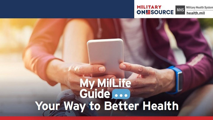 "Links to DOD Launches ""My MilLife Guide"" Text Message Program to Boost Wellness"