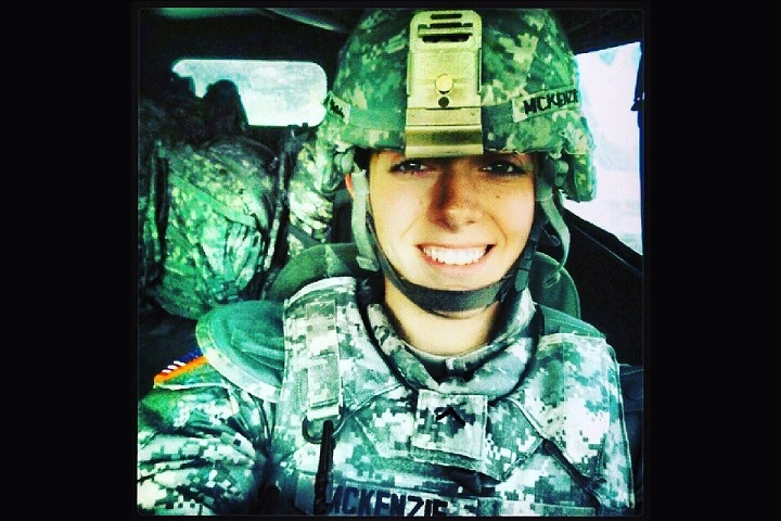 New York Army National Guard Spc. Nicole McKenzie, shown here in a personal photo, used her combat life-saving skills to help save the life of a 12-year-old boy who jumped from an overpass in Yonkers, New York, Aug. 3, 2018. (Courtesy photo)