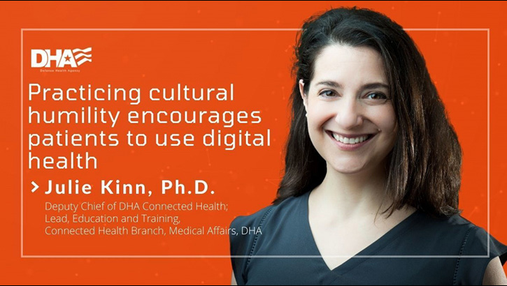 Links to Practicing cultural humility encourages patients to use digital health