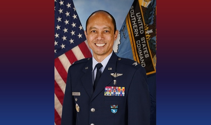 Air Force Col. Rudolph Cachuela, Command Surgeon, U.S. Southern Command
