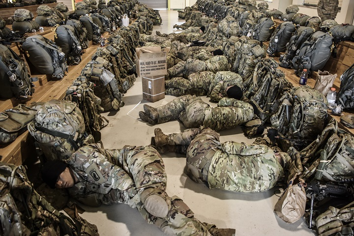 Sleep is an important factor in health. In addition to aiding in the healing of the body after injury, studies suggest that sleep can help boost the immune system, prevent disease, and ease depression. (U.S. Army photo by Lt. Col. John Hall)