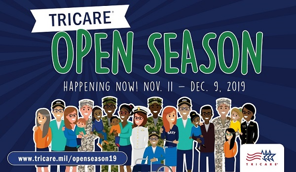Social Media post with text about Open Season