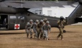 It is important for Soldiers to know what to expect when a MEDEVAC helicopter arrives and how to approach the helicopters, load patients aboard and how to interact with their crew chief and flight medic in order to do ground handoffs. (U.S. Army photo by Sgt. 1st Class Matthew Chlosta)