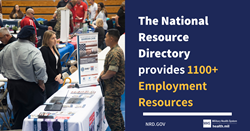 National Resource Directory Employment Resources