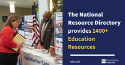 National Resource Directory Education Resources