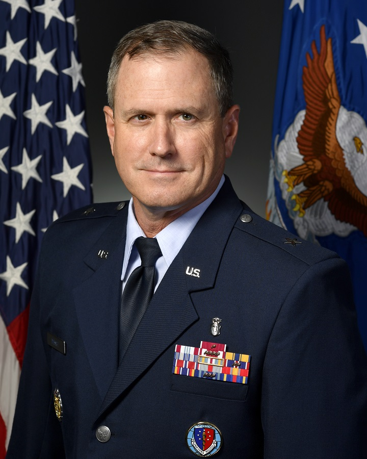 Brigadier General James H. Dienst, Director, J7 (Education and Training), Defense Health Agency, Defense Health Headquarters, Falls Church, Virginia