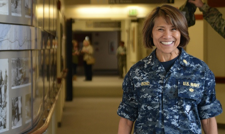 Recently, Navy Vice Adm. Raquel C. Bono, Defense Health Agency director, visited Ramstein Air Base, to discuss future changes to the healthcare program for military members. (U.S. Air Force file photo)