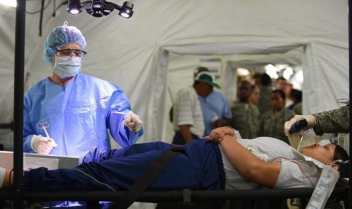 Langley Air Force Base Hospital Emergency Room